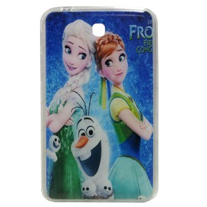 Jelly Back Cover Elsa for Tablet Samsung Galaxy Tab P3200 Model 2