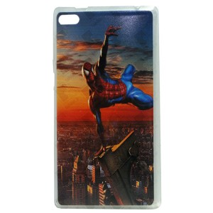 Jelly Back Cover Spider Man for Tablet Lenovo TAB 4 7 Essential TB-7304 Model 3
