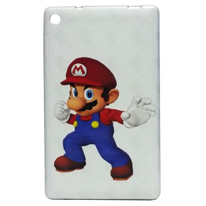 Super Mario Jelly Back Cover for Tablet Lenovo TAB 3 7 Essential TB3-710