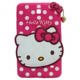 3D Back Cover Hello Kitty for Tablet Samsung Galaxy Tab 4 7 SM-T230