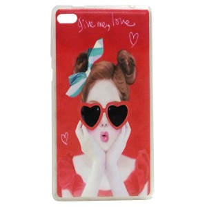 Lovely Jelly Back Cover for Tablet Lenovo TAB 4 7 Essential TB-7304