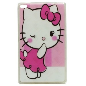 Jelly Back Cover Hello Kitty for Tablet Lenovo TAB 4 8 TB-8504